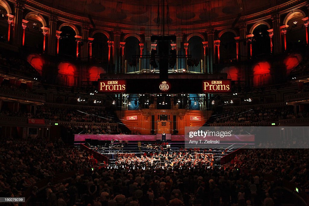 BBC Proms 34: Pianists Katia & Marielle Labeque Perform With BBC Symphony Orchestra : News Photo