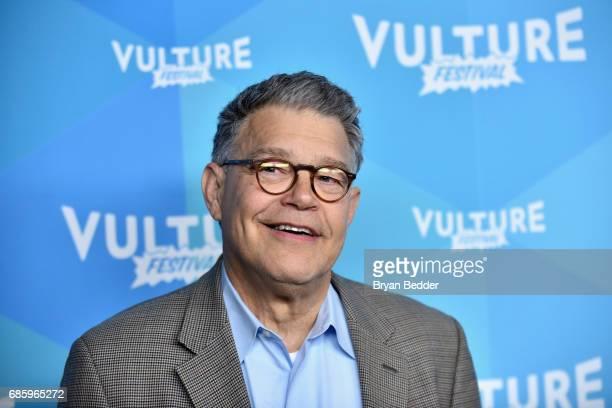 Sen Al Franken attends Al Franken And Robert Smigel In Conversation during the 2017 Vulture Festival at Milk Studios on May 20 2017 in New York City