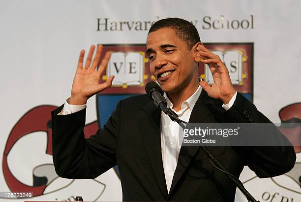 Sen Barack Obama attended a black alumni luncheon at the Harvard School of Law Saturday Sept 17 2005 He was also honored with a Harvard Law School...