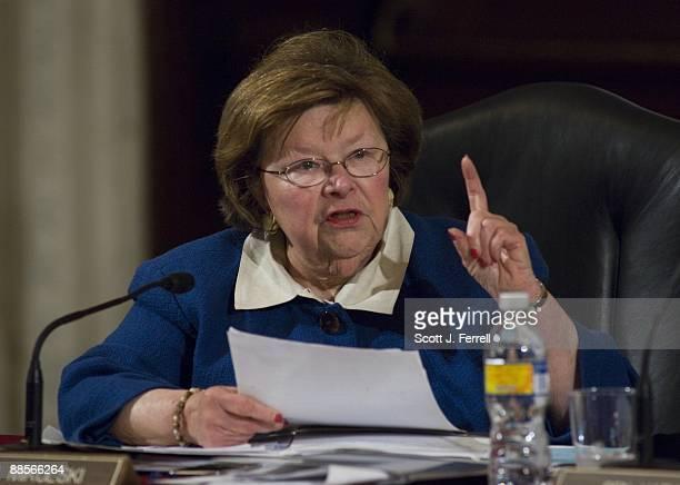 Sen. Barbara Mikulski, D-Md., during the Senate Health, Education, Labor and Pensions markup of a comprehensive healthcare bill.