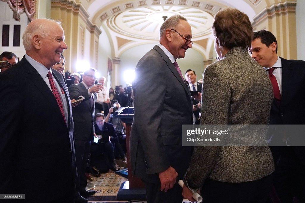 President Trump Meets With GOP Senators During Their Weekly Policy Meetings