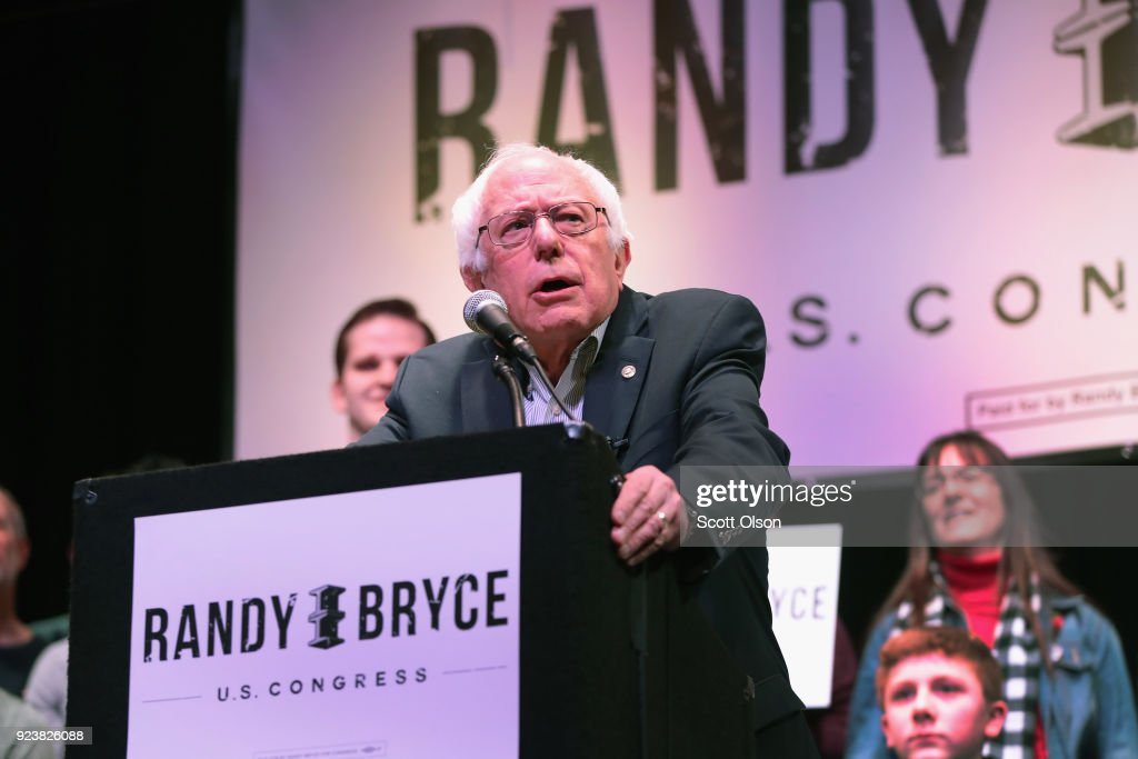 Bernie Sanders Campaigns With Congressional Candidate Randy Bryce In Wisconsin