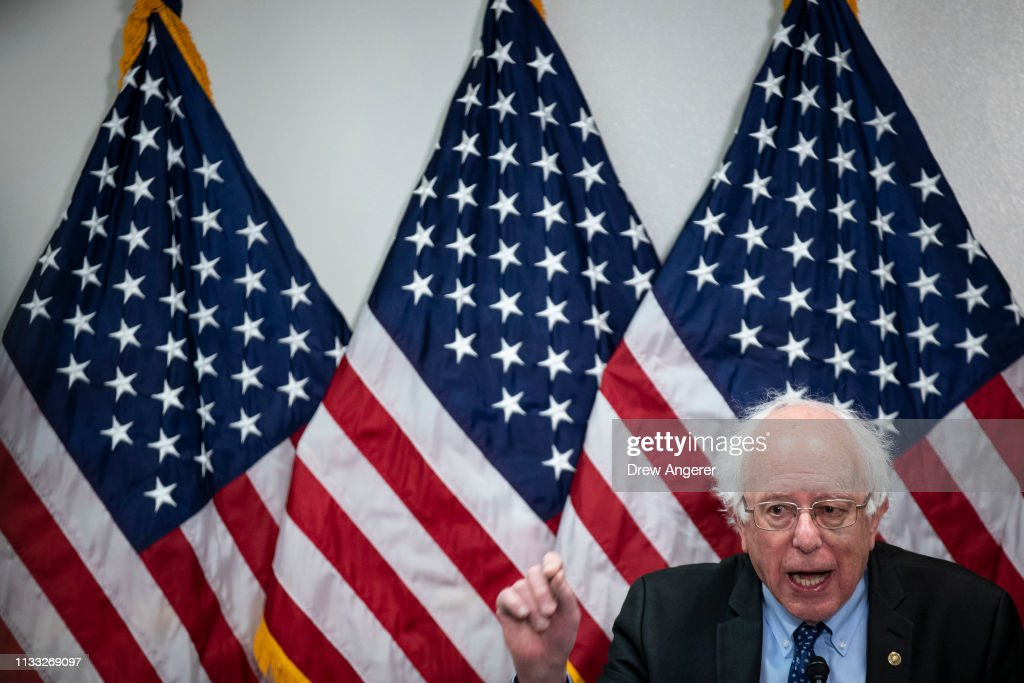 Sen. Bernie Sanders And Rep. James Clyburn Introduce Community Health Center Funding Act : News Photo
