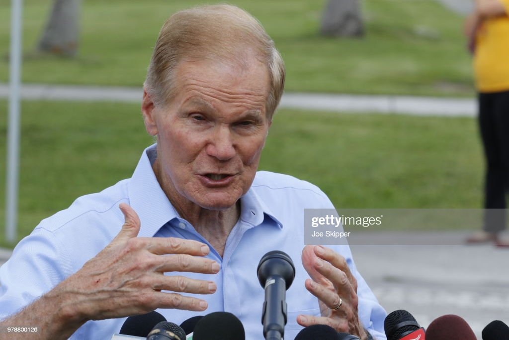 Sen. Nelson  Visits The Homestead Temporary Shelter For Unaccompanied Children