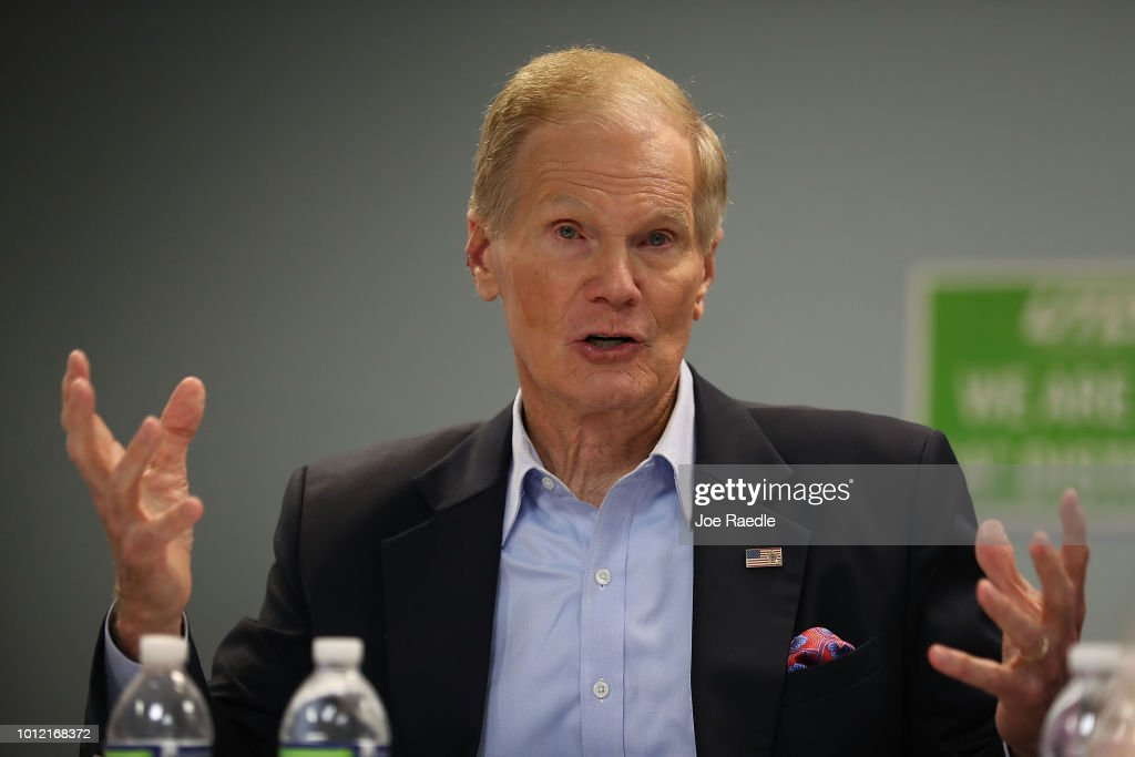 Florida Sen. Bill Nelson Meets With Education Leaders At Campaign Event