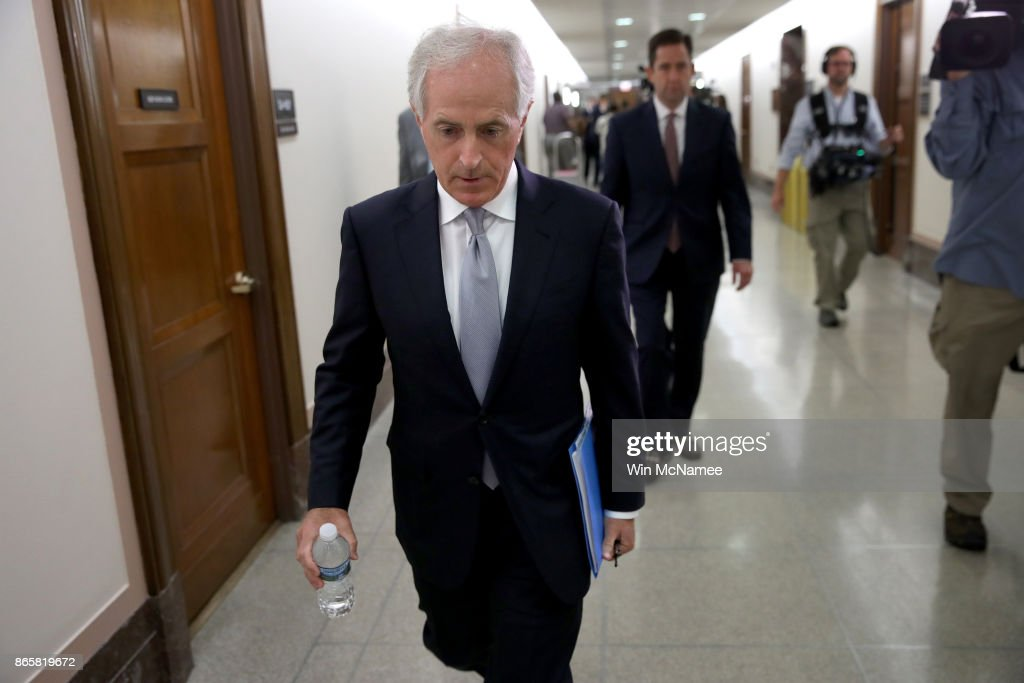 Sen. Bob Corker Continues War Of Words With President Trump