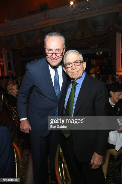 Sen Charles E Schumer and Honoree Owner Advance Publications Donald Newhouse attend The Association for Frontotemporal Degeneration's Hope Rising...
