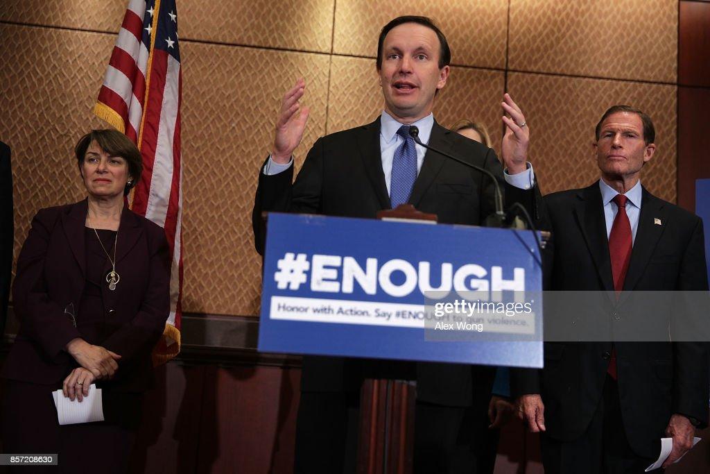 Senate Democrats Demand Congressional Action To Close Gun Law Loopholes