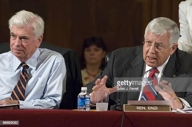 June 24: Sen. Christopher J. Dodd, D-Conn., sitting in for ailing Chairman Edward M. Kennedy, D-Mass., and ranking member Michael B. Enzi, R-Wyo.,...