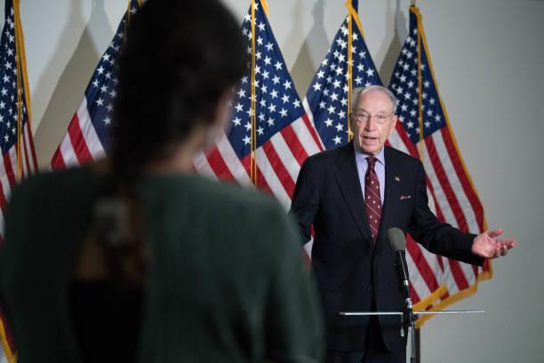 DC: Republican Senators Hold Closed Luncheon Meeting