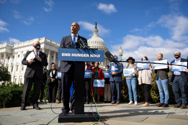 DC: Sen. Booker And Rep. McGovern Introduce Legislation To Address Hunger