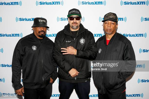Sen Dog BReal and Eric Correa of Cypress Hill visit SiriusXM Studios on October 31 2018 in New York City
