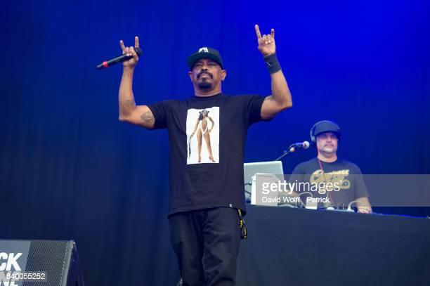 Sen Dog from Cypress Hill performs during Rock en Seine Festival at Domaine National de SaintCloud on August 27 2017 in Paris France