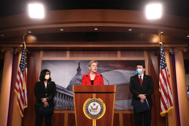 DC: Sen. Warren Introduces Ultra-Millionaire Tax Act With Reps. Jayapal And Boyle