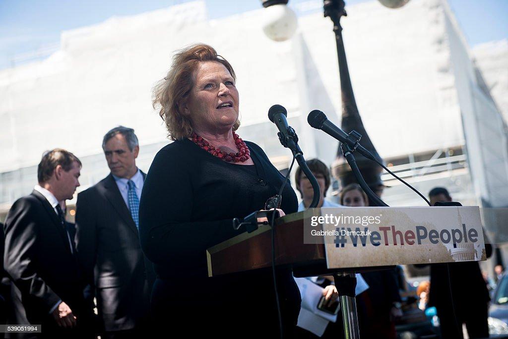 Senate Democrats Unveil New #WeThePeople Legislative Package : News Photo