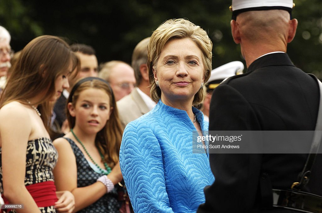 Sen. Hillary Clinton D-Ny. attends : News Photo