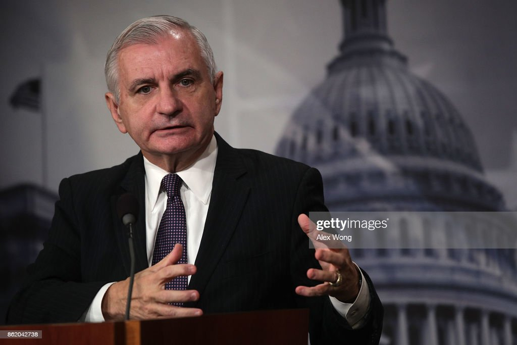 Sen. Jack Reed Holds Media Briefing On Recent Visit To South Korea And DMZ