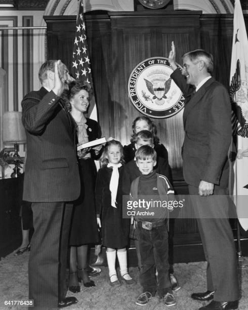 Sen James Strom Thurmond RSC with family 1995