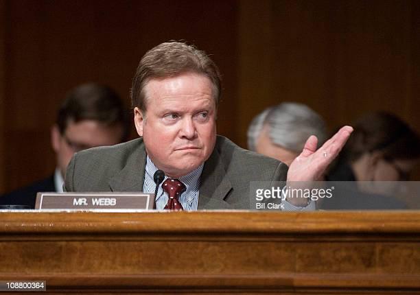 Sen Jim Webb DVa questions US Ambassador to Iraq James Jeffrey and and Gen Lloyd James Austin III commanding general of United States Forces Iraq...