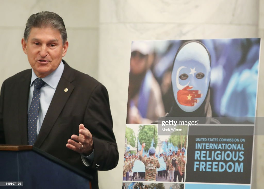 Sen. Joe Manchin And Rep. Jim McGovern Discuss Report On Religious Freedom Across The Globe : News Photo