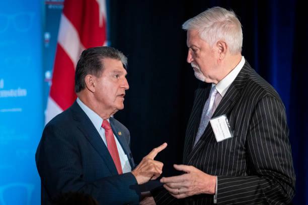 DC: Sen. Manchin Interviewed At Economic Club Of Washington, DC