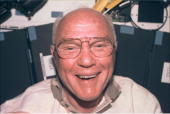 Sen john h glenn jr payload specialist smiles into the camera from picture id902575?s=170x170