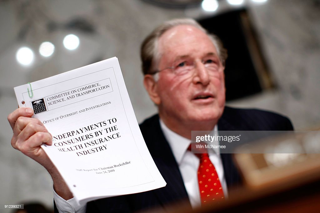 Senate Finance Committee Resumes Mark Up Of Health Care Reform Bill