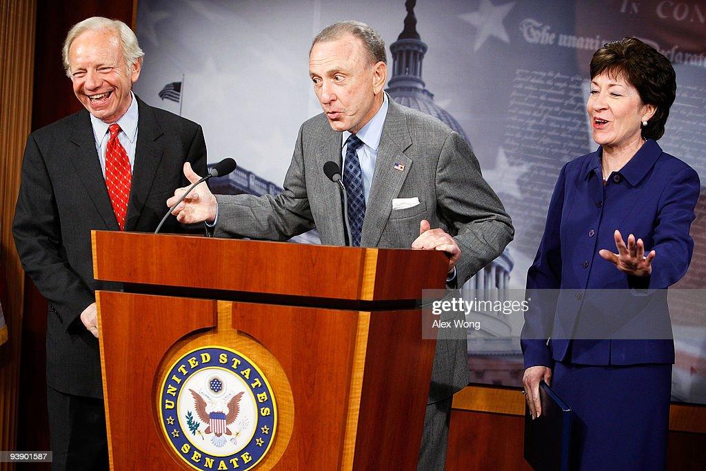 Lieberman And Collins Discuss Bipartisan Health Care Amendments