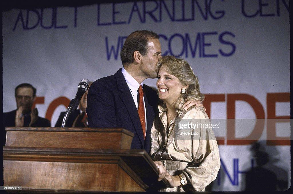 Joseph R. Jr. Biden [& Wife #2] : News Photo
