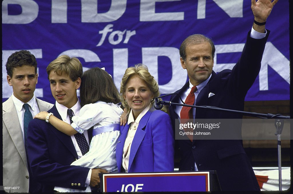 Joseph R. Jr. Biden [& Family] : News Photo