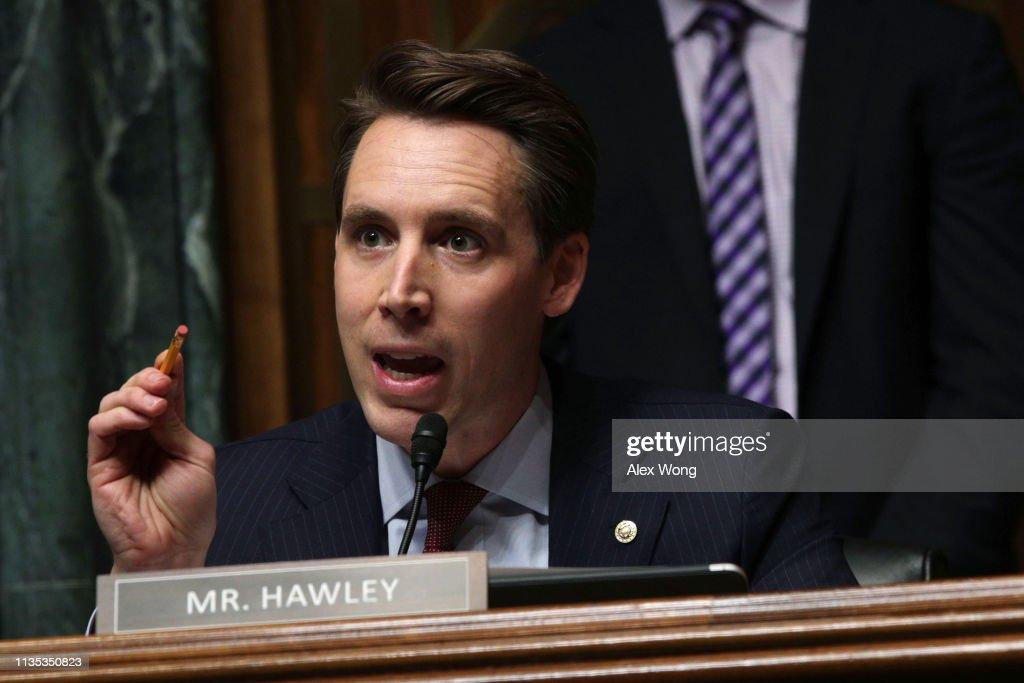 Senate Judiciary Committee Holds Hearing On Data Privacy : News Photo