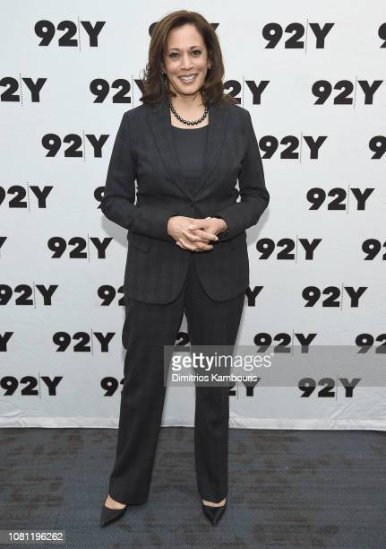 Sen. Kamala Harris attends a conversation at 92nd Street Y on January 11, 2019 in New York City.
