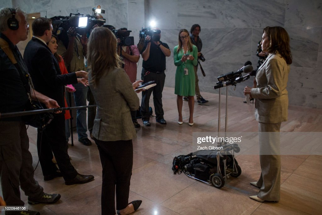 Lawmakers React To Guilty Verdicts In Manafort's Trial And Michael Cohen's Plea Deal : News Photo