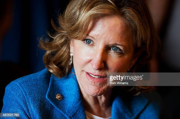 Sen Kay Hagan DNC conducts a meeting in the Senate Reception Room of the Capitol July 22 2014