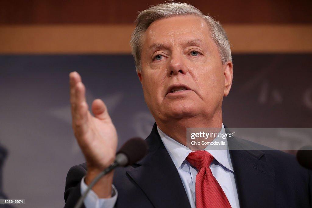Senators McCain, Graham, Purdue, Johnson And Lee Discuss Health Care Reform