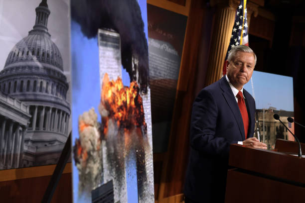 DC: Sen. Lindsey Graham Holds Press Conference On Troop Withdrawal From Afghanistan