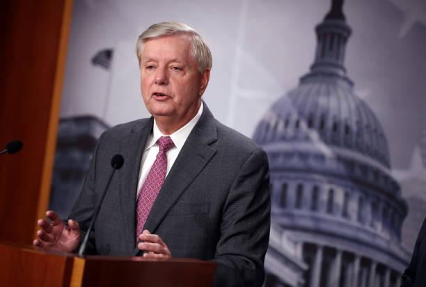 DC: Senators Graham And Cuellar Hold News Conference On Border Situation