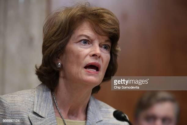 Sen. Lisa Murkowski , chair of the Senate Appropriations Committee's Interior, Environment, and Related Agencies Subcommittee, delivers opening...
