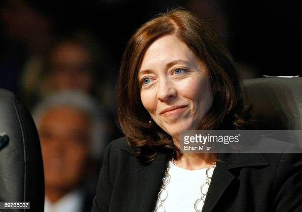 S Sen Maria Cantwell attends the National Clean Energy Summit 20 at the Cox Pavilion at UNLV August 10 2009 in Las Vegas Nevada Political and...