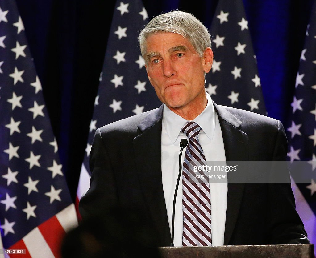 Mark Udall Campaign And Colorado Democrats Hold Election Night Event : News Photo