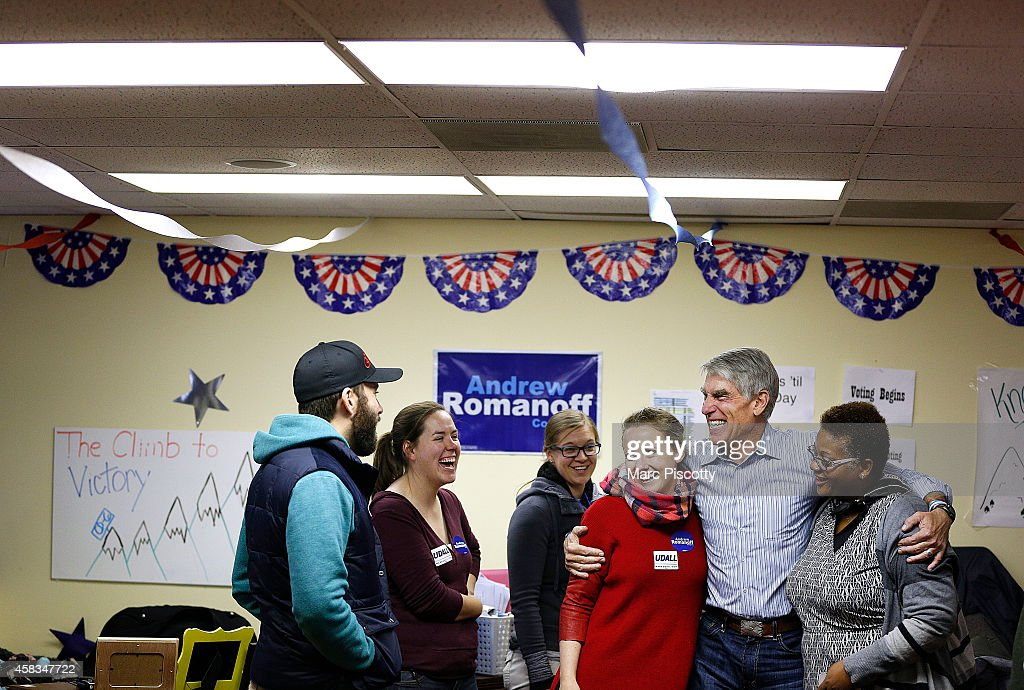 Democratic Senate Candidate Mark Udall Campaigns One Day Before Midterm Elections