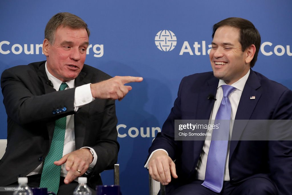 Sens Mark Warner and Marco Rubio Discuss Russian Interference In US Elections