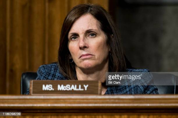 Sen Martha McSally RAriz listens during the Senate Armed Services Committee hearing on privatized military housing on Tuesday Dec 3 2019