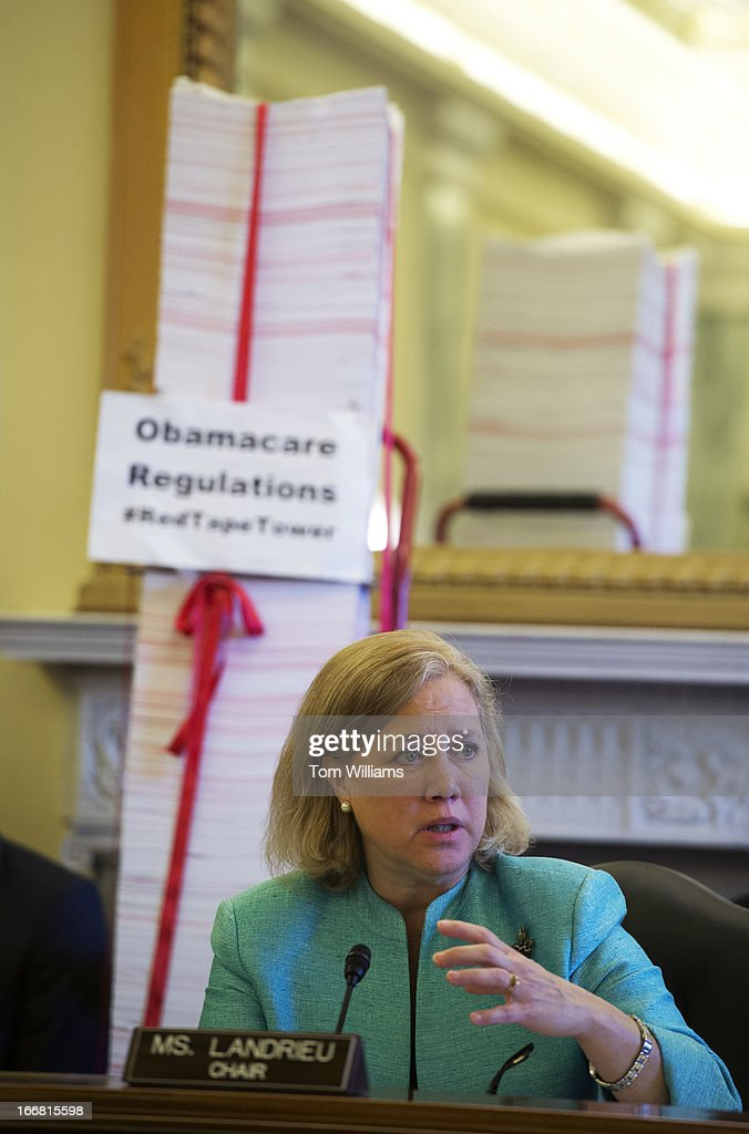 Mary Landrieu, D La., Chair Of The Senate Small Business