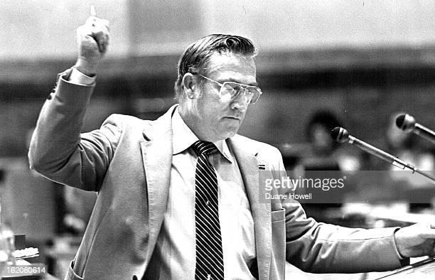 FEB 17 1982 Sen Maynard Yost made proposal