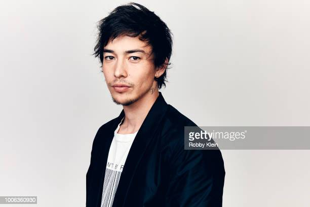 Sen Mitsuji of YouTube's 'ORIGIN' poses for a portrait during the 2018 Summer Television Critics Association Press Tour at The Beverly Hilton Hotel...