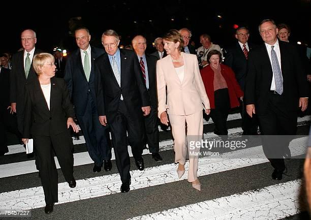 Sen Patrick Leahy Sen Patty Murray Sen Charles Schumer Senate Majority Leader Harry Reid Sen Ben Cardin US Speaker of the House Rep Nancy Pelosi Sen...