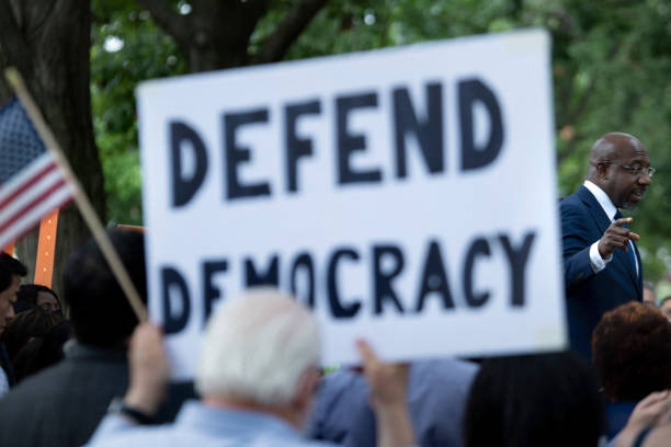 DC: Rally Held On Capitol Hill Calls For End To Filibuster And Preservation Of Voting Rights