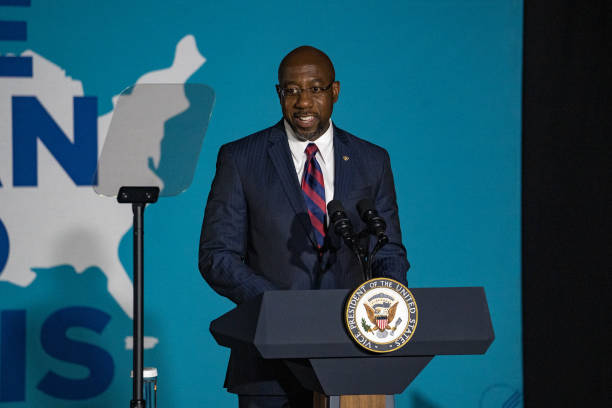 GA: Vice President Harris Visits Atlanta For Vaccine Mobilization Event