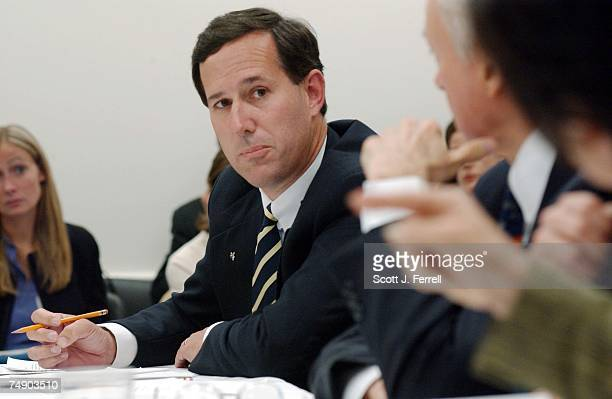'PARTIALBIRTH' ABORTION CONFERENCE COMMITTEE Sen Rick Santorum RPa as House and Senate conferees meet to consider legislation that would prohibit the...